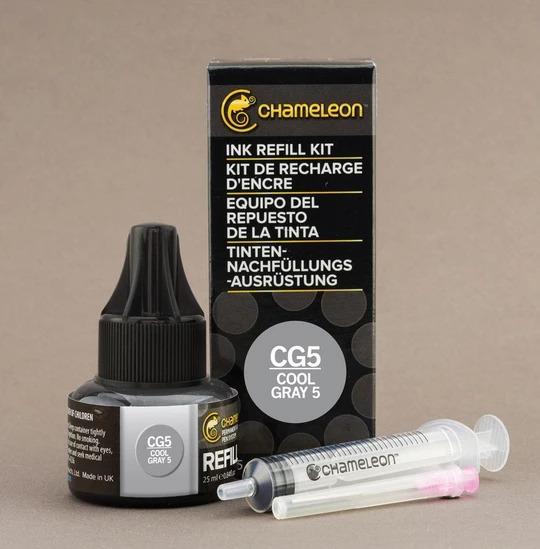 Chameleon Ink Refill - Recarga de Tinta (CG5); Cool Gray 5