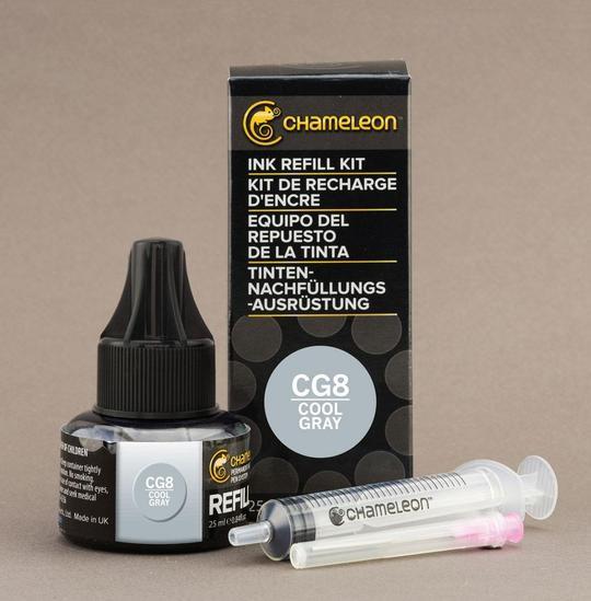 Chameleon Ink Refill - Recarga de Tinta (CG8); Cool Gray 8