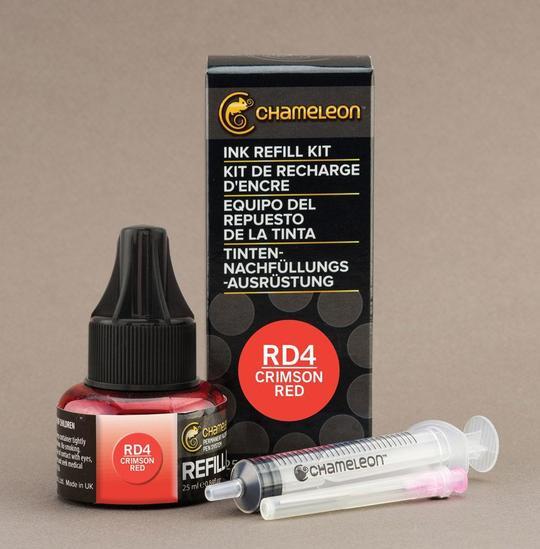 Chameleon Ink Refill - Recarga de Tinta (RD4); Crimson Red