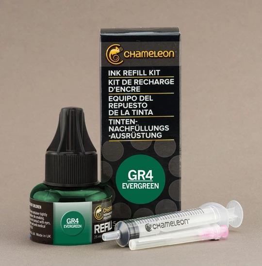 Chameleon Ink Refill - Recarga de Tinta (GR4); Evergreen