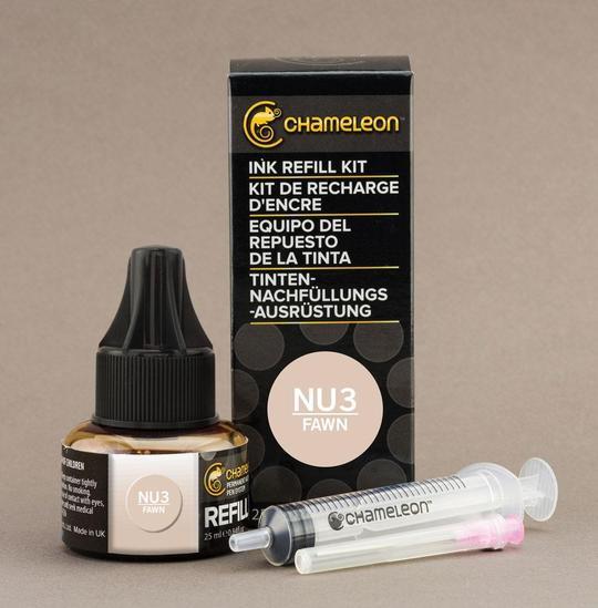 Chameleon Ink Refill - Recarga de Tinta (NU3); Fawn