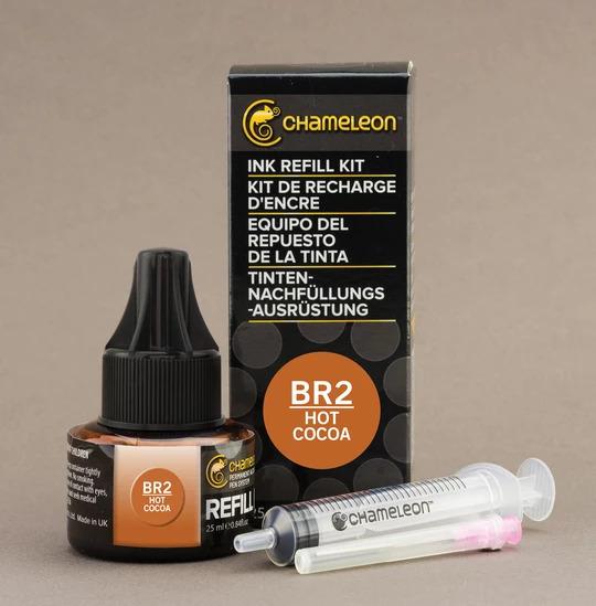 Chameleon Ink Refill - Recarga de Tinta (BR2); Hot Cocoa