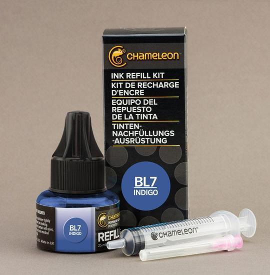 Chameleon Ink Refill - Recarga de Tinta (BL7); Indigo