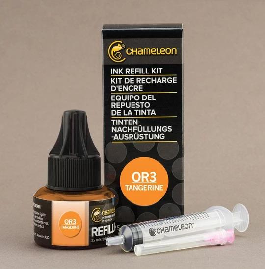 Chameleon Ink Refill - Recarga de Tinta (OR3); Tangerine