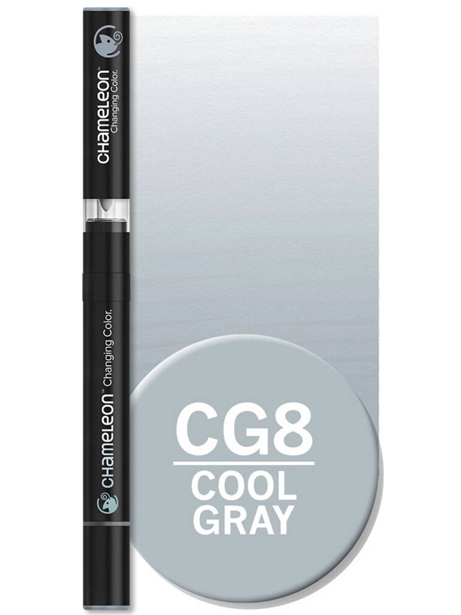 Chameleon Color Tones - Marcador (CG8); Cool Gray 8