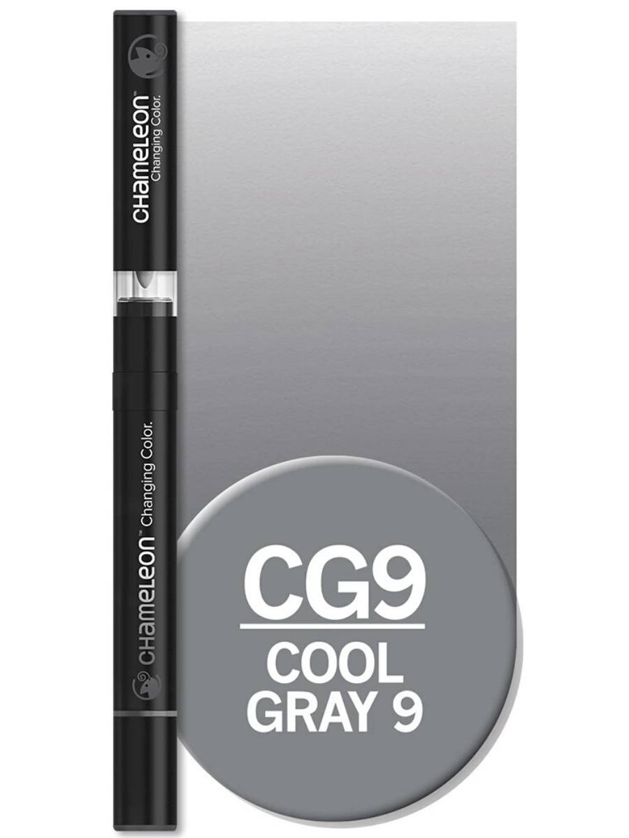 Chameleon Color Tones - Marcador (CG9); Cool Gray 9