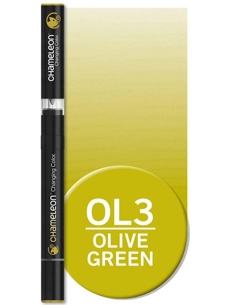 Chameleon Color Tones - Marcador (OL3); Olive Green