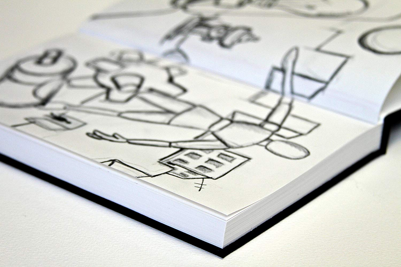 Canson Art Book One - Libreta 14 x 21,6 cm, 98 Hojas, 100 gr/m2