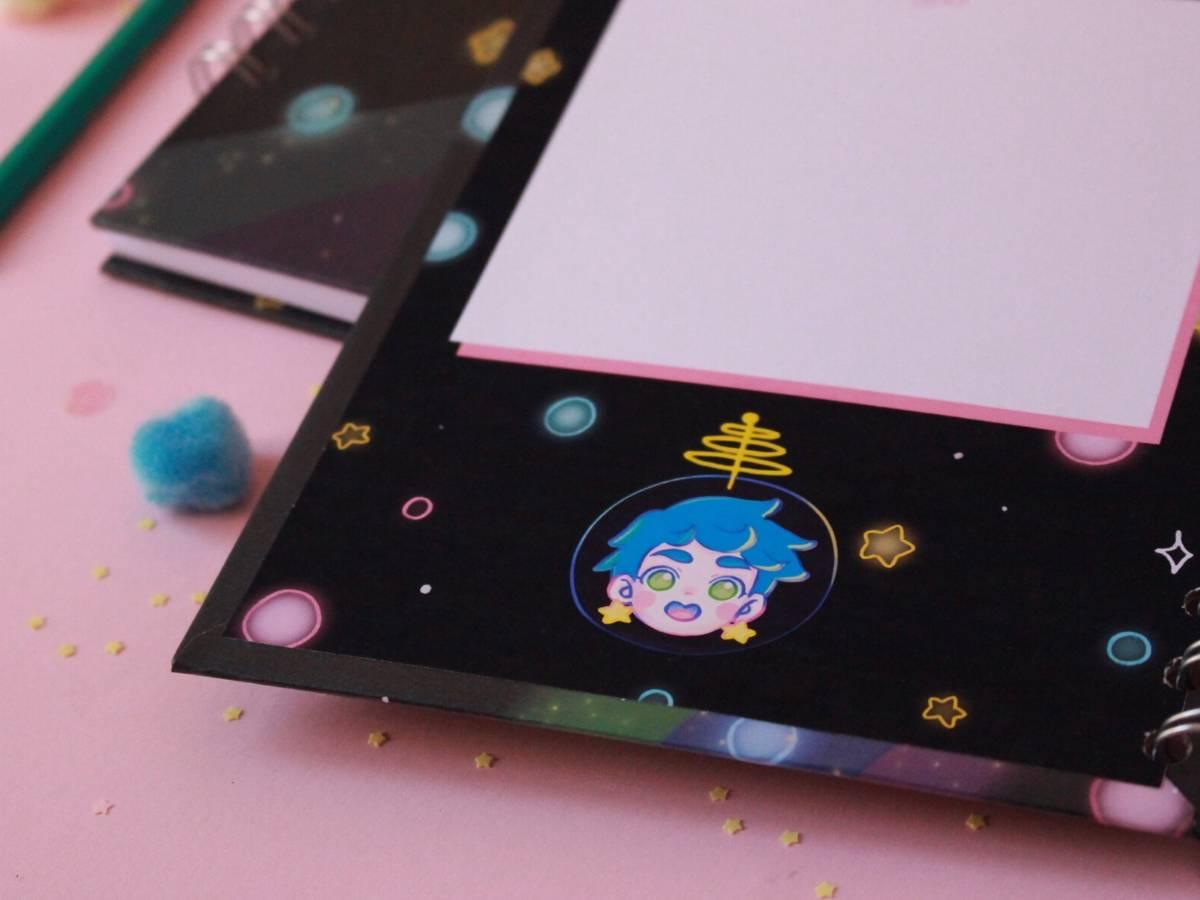 Piyoasdf - Libreta Space Fuku 2