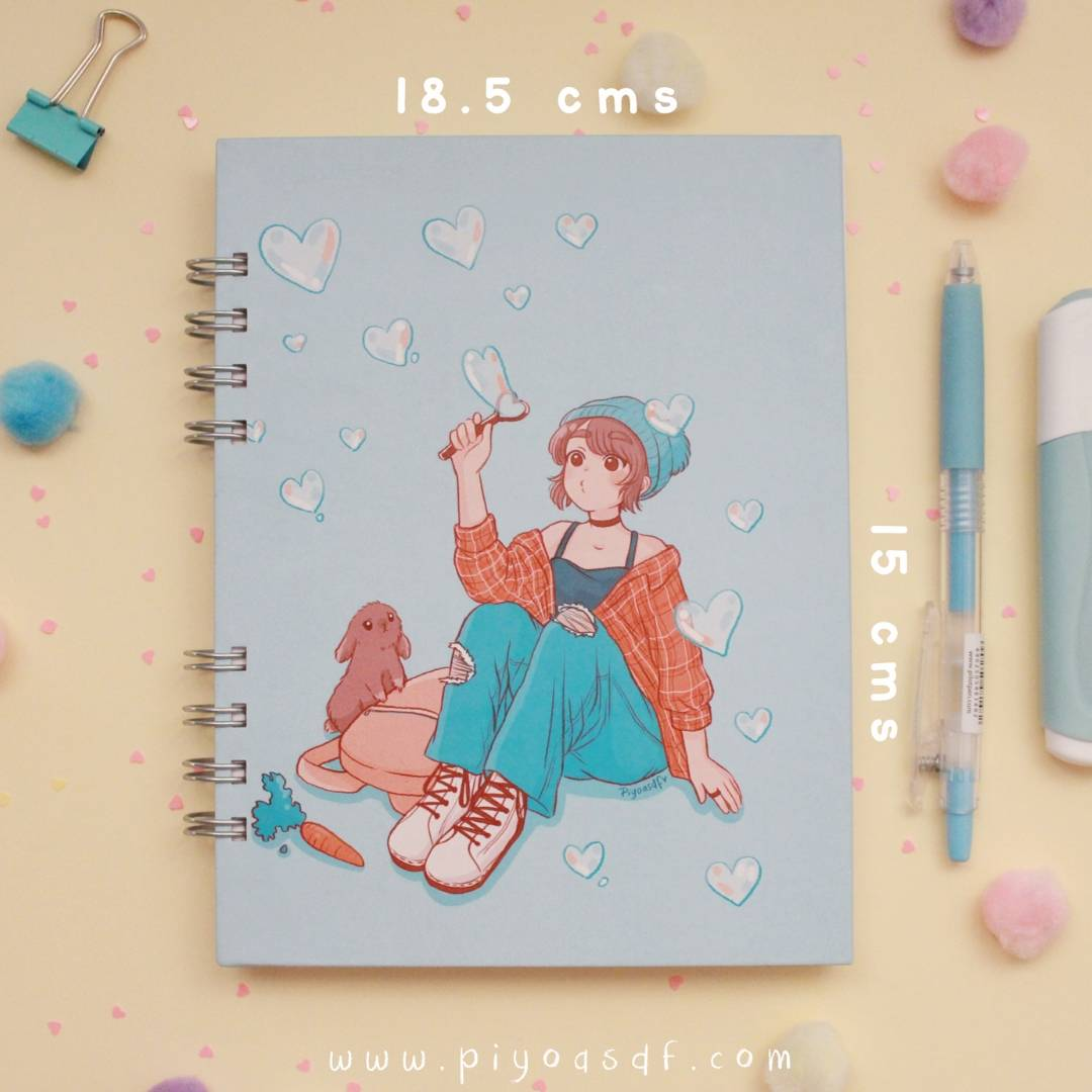 Piyoasdf - Libreta Conejito