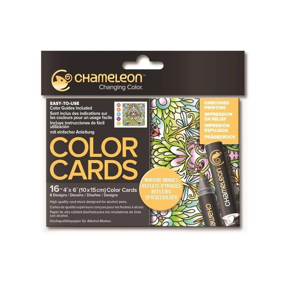 Chameleon Color Cards - Tarjetas para Colorear; Reflejos