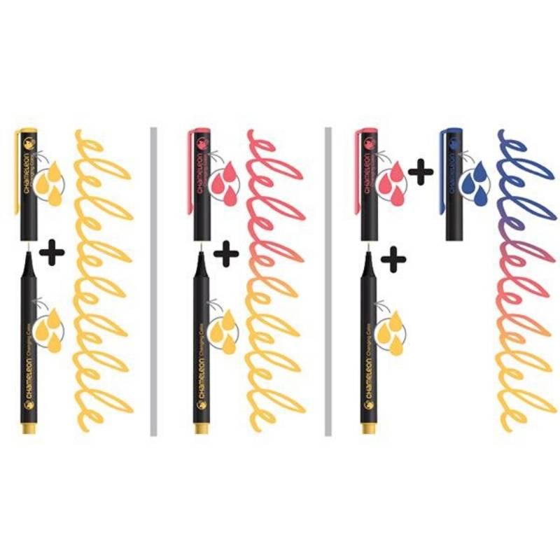 Chameleon Fineliners - Set 24 Tiralíneas Colores Fuertes