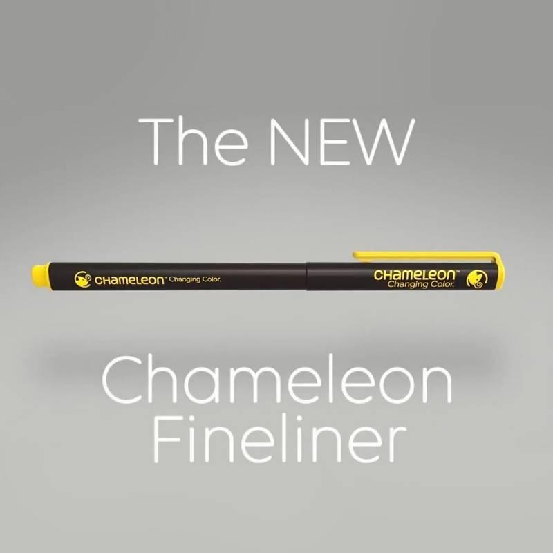 Chameleon Fineliners - Set 6 Tiralíneas Colores Fríos