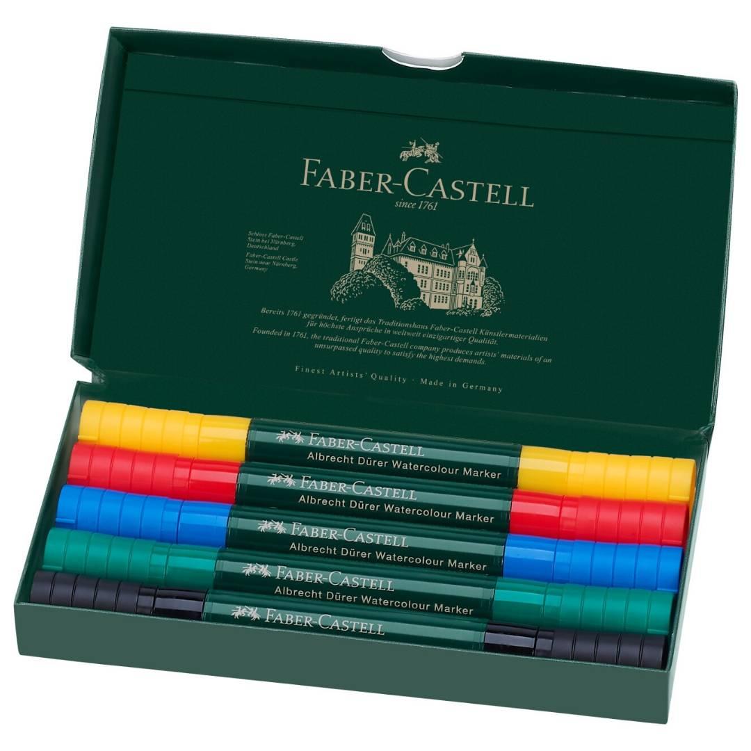 Faber-Castell Albrecht Durer Watercolor Markers - Set 5 Marcadores Acuarelables