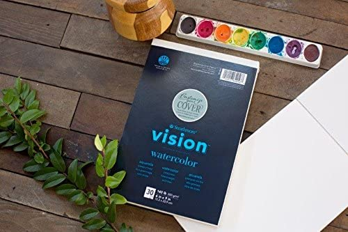 Strathmore Vision Watercolor - Block Acuarela 22,9 x 30,5 cm 300 g/m2 30 hojas