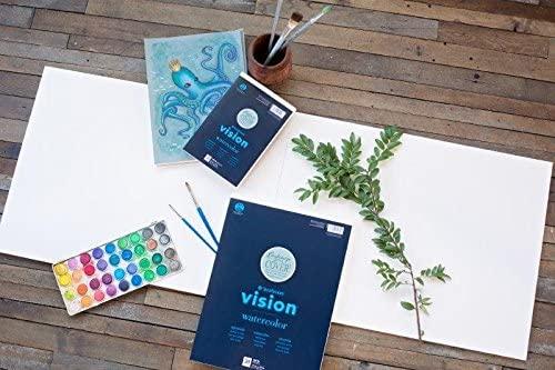 Strathmore Vision Watercolor - Block Acuarela 15,2 x 22,9 cm 300 g/m2 30 hojas