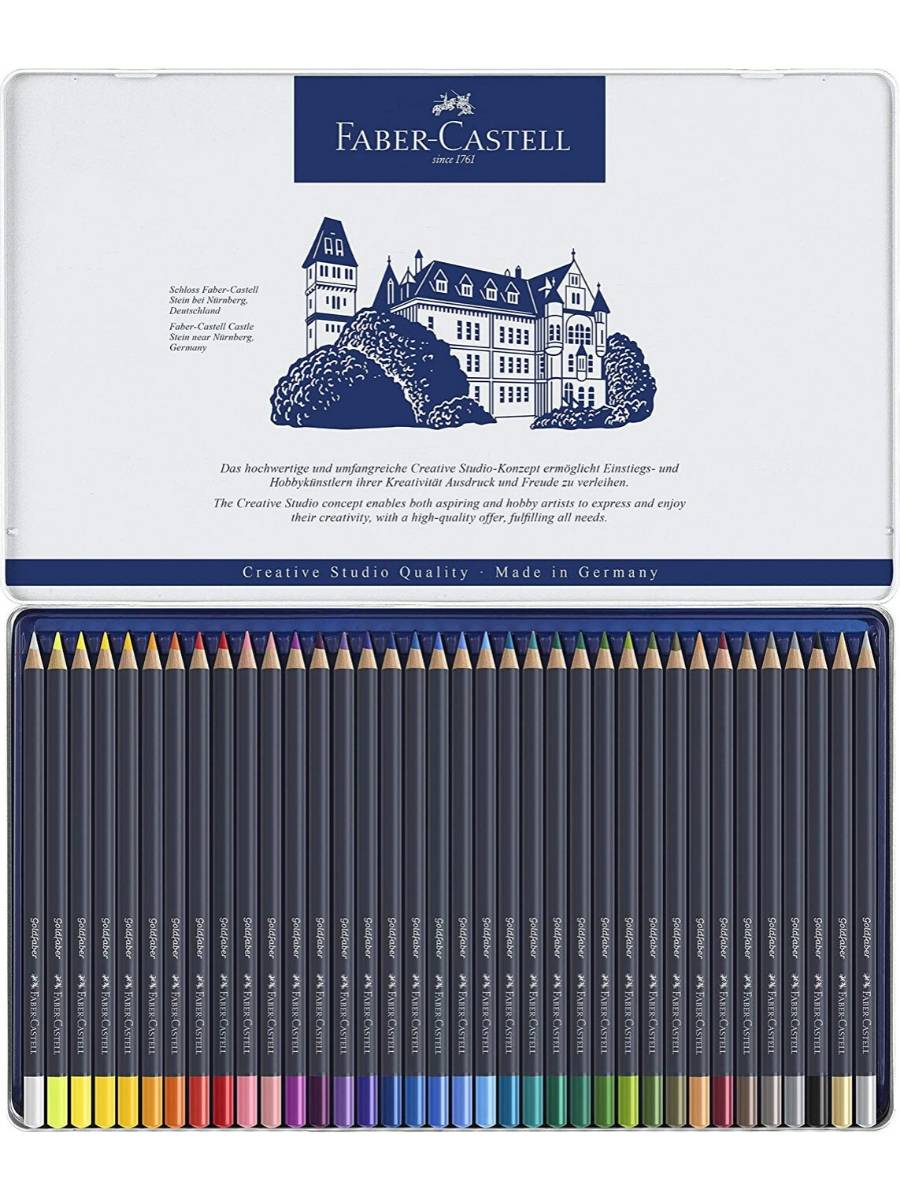 Faber Castell Goldfaber - Set 36 Lápices de Colores