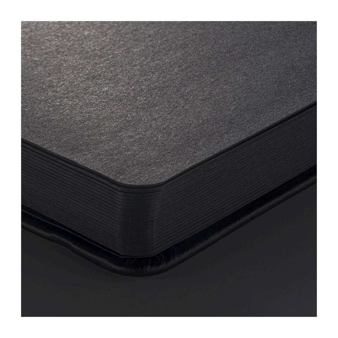 Sakura Sketch Note Book - Sketchbook Papel Negro; 12 x 12 cm, 80 Hojas, 140 g/m2