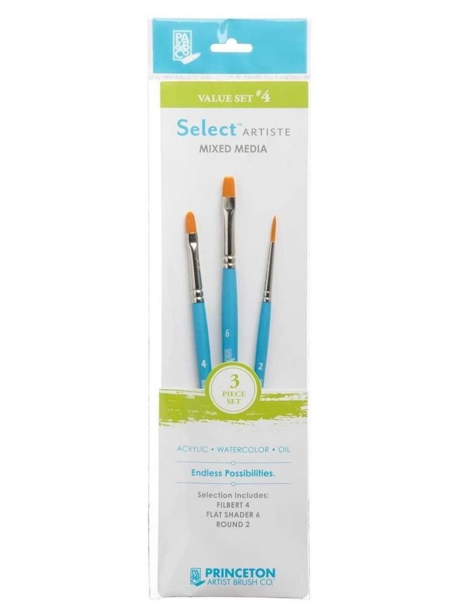 Princeton Select Artiste - Set 3 Pinceles Value Set 4
