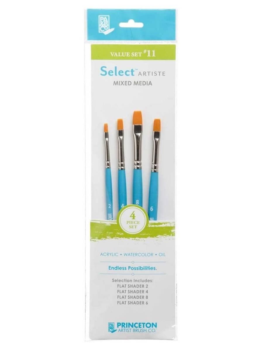 Princeton Select Artiste - Set 4 Pinceles Value Set 11