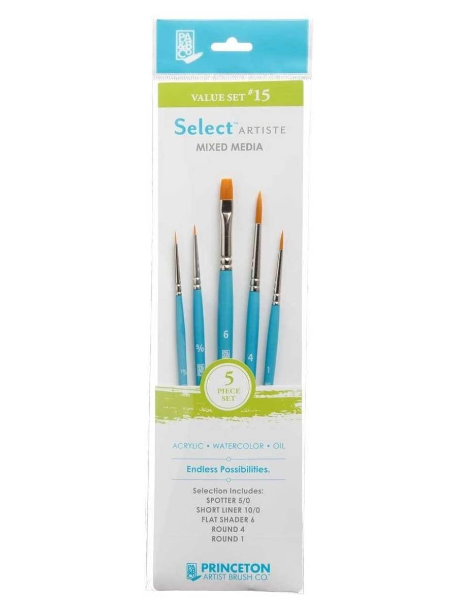Princeton Select Artiste - Set 5 Pinceles Value Set 15