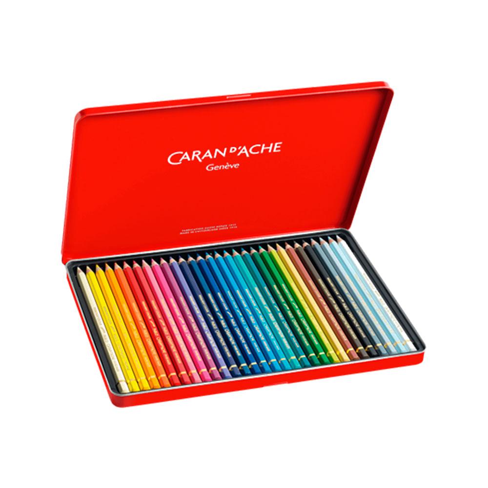 Caran d'Ache Pablo - Set 30 Lápices de Colores