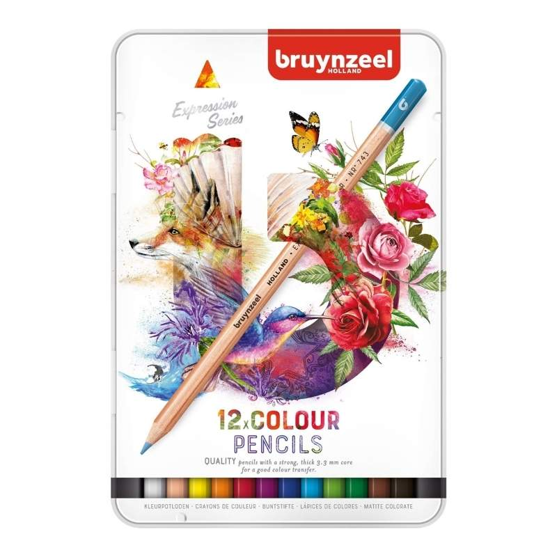Bruynzeel Expression - Set 12 Lápices de Colores