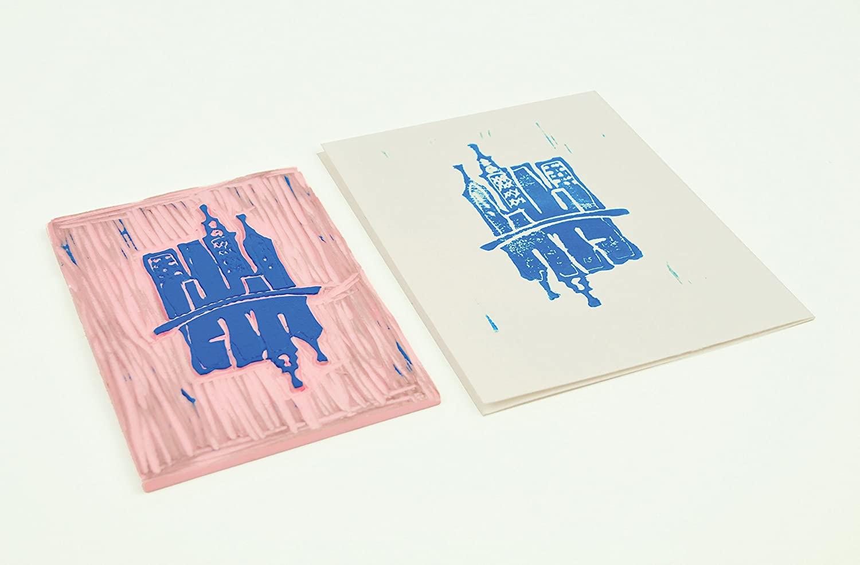 Speedball Speedy Carve - Linoleo para Grabado; 10,2 x 15,2 cm