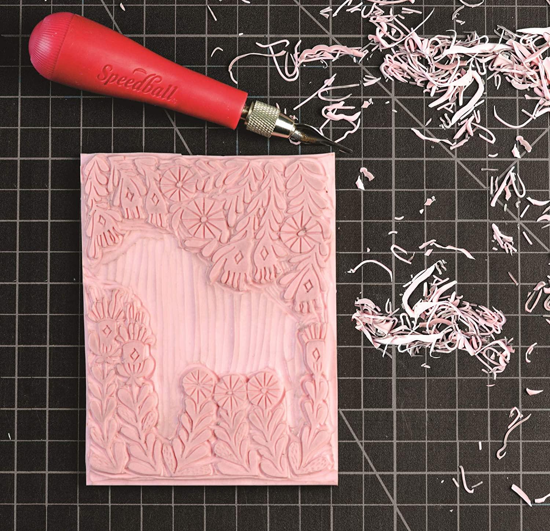 Speedball Speedy Carve - Linoleo para Grabado; 15,2 x 30,5 cm
