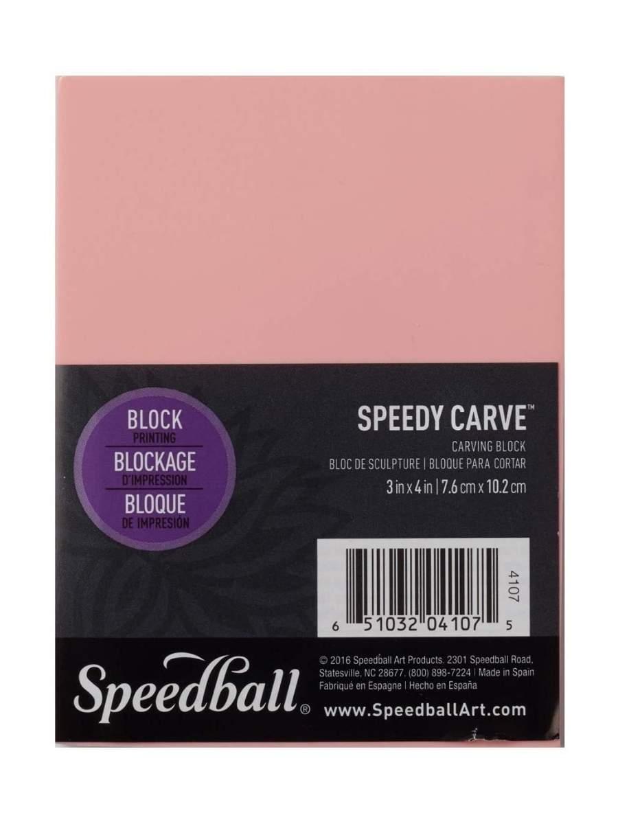 Speedball Speedy Carve - Linoleo para Grabado; 7,6 x 10,2 cm