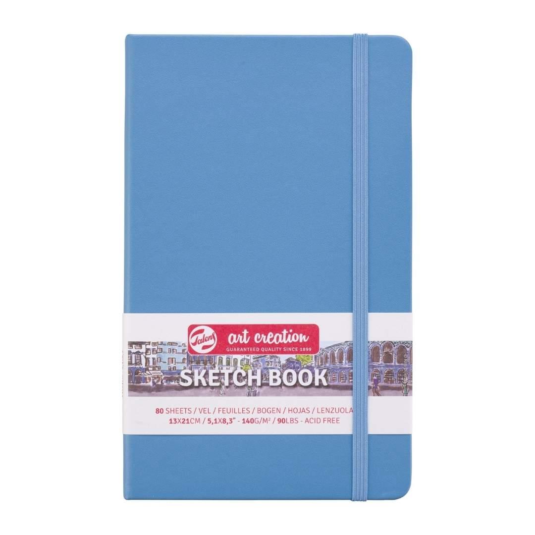 Talens Art Creation Sketch Book - Libreta Lake Blue 13 x 21 cm, 80 Hojas, 140 g/m2