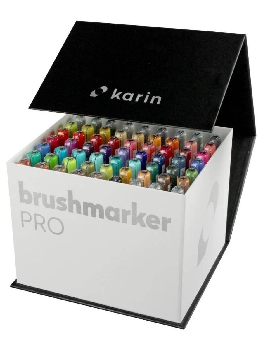 Karin BrushMarker Pro - Set 60 Marcadores Mega Box