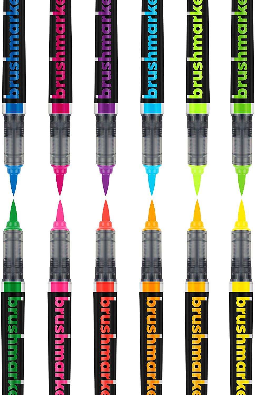 Karin BrushMarker Pro - Set 12 Marcadores Neon Colours
