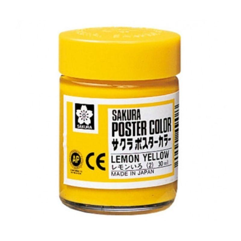 Sakura Poster Color - Témperas Profesionales 30 ml