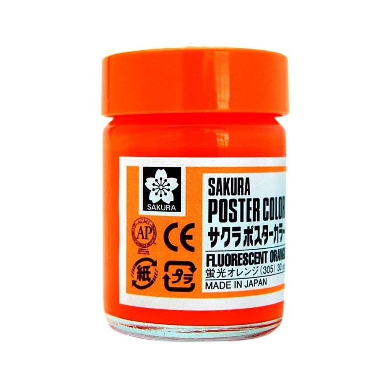 Sakura Poster Color - Témperas Profesionales 30 ml