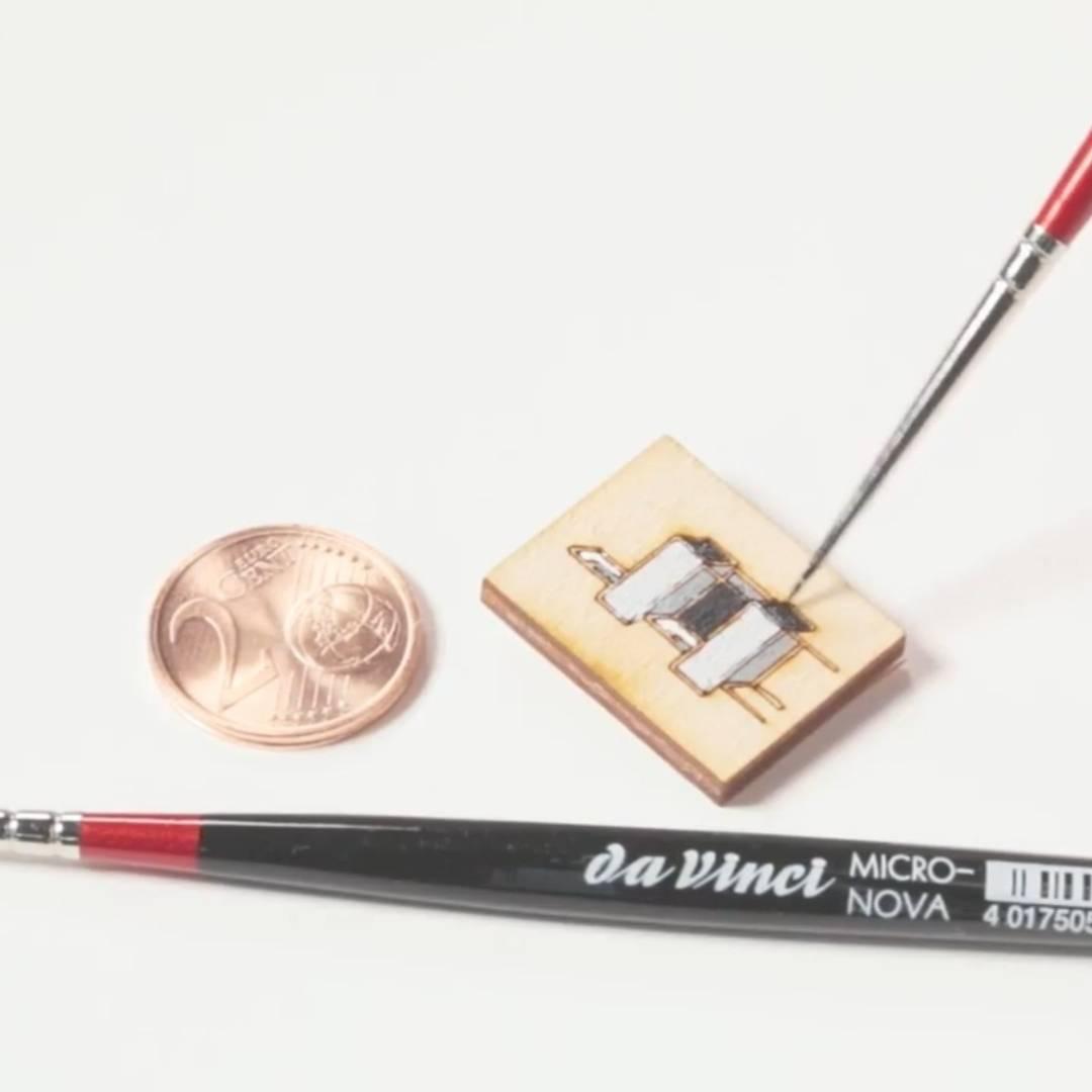 da Vinci Micro Nova - Pincel para Detalles