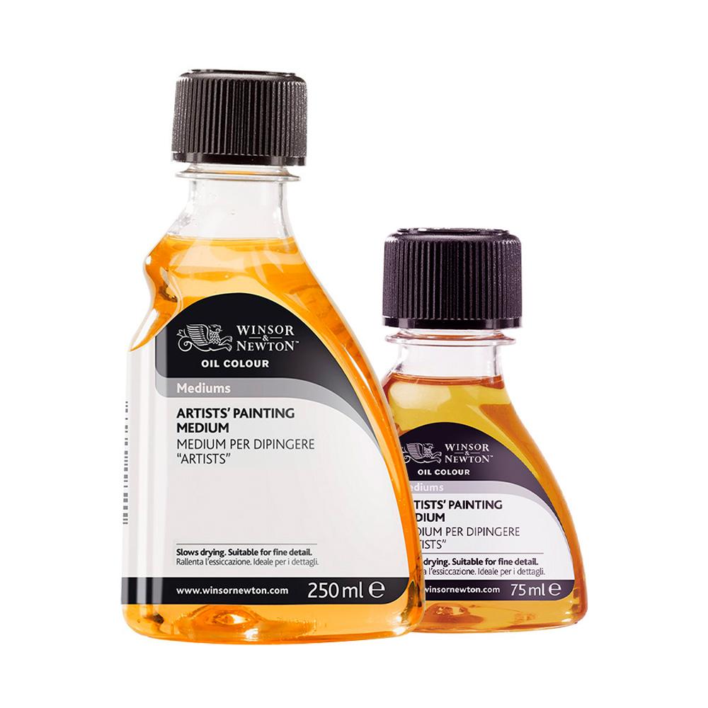Winsor & Newton Oil Colour - Medium para Pintura Botella 75 ml