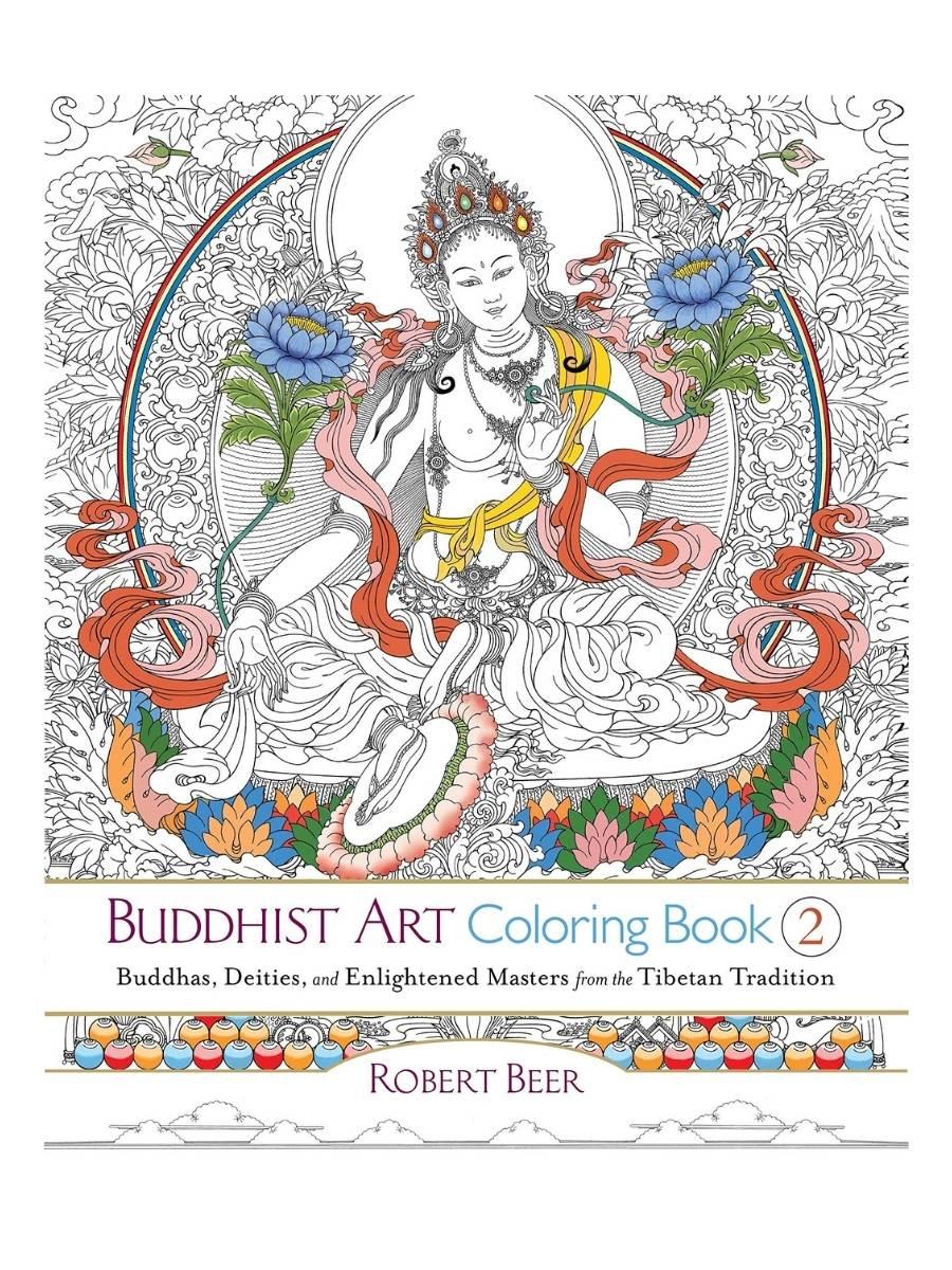 Buddhist Art Coloring Book 2 - Robert Beer