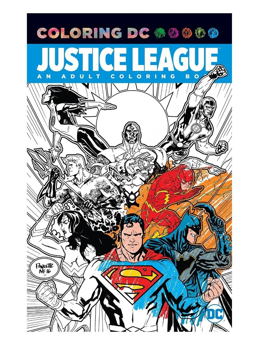 Justice League: An Adult Coloring Book - Varios Autores