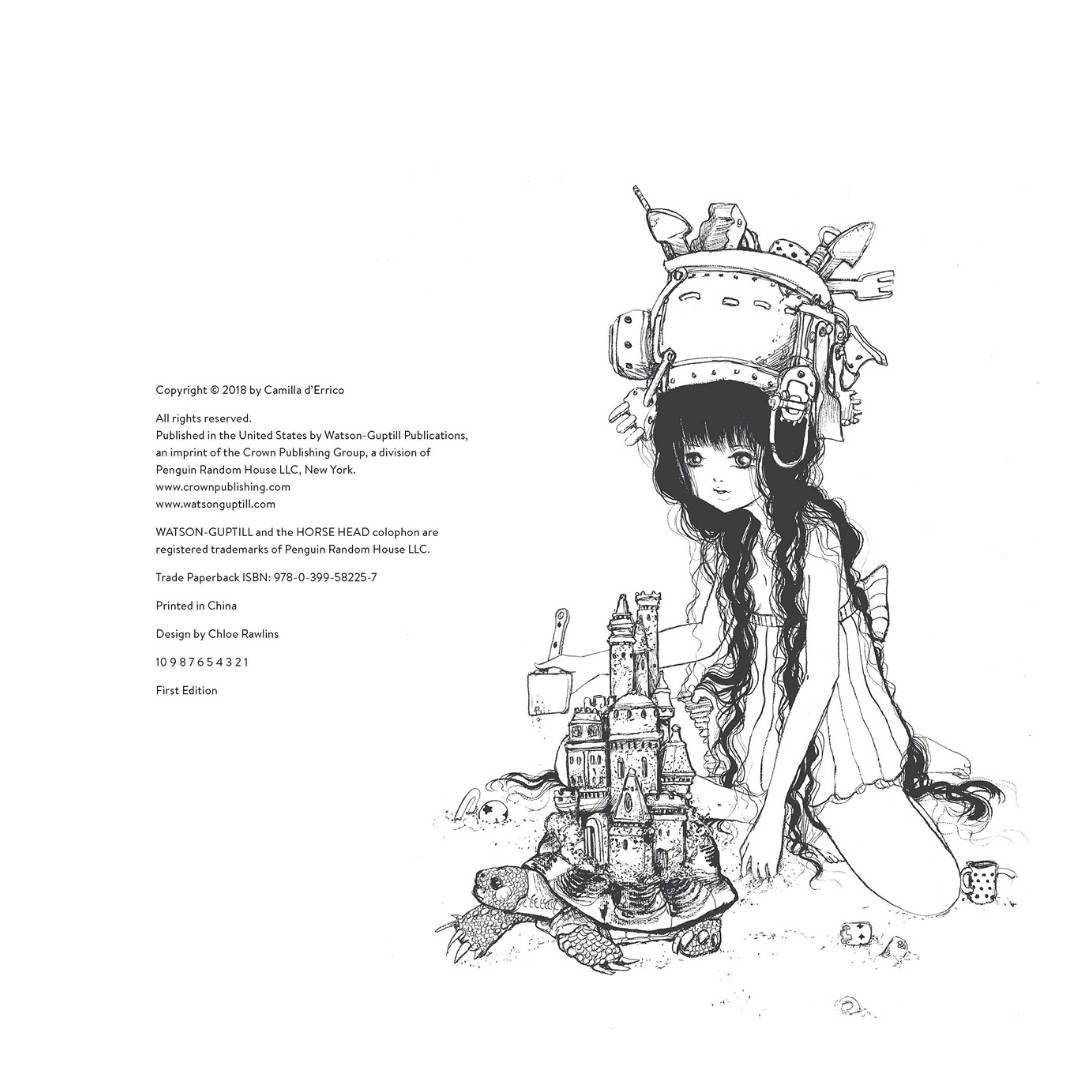 Pop Manga Mermaids and Other Sea Creatures - Camilla d'Errico