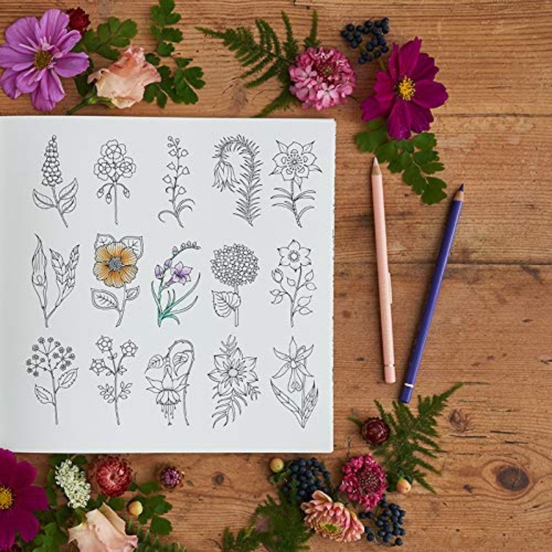 World of Flowers - Johanna Basford