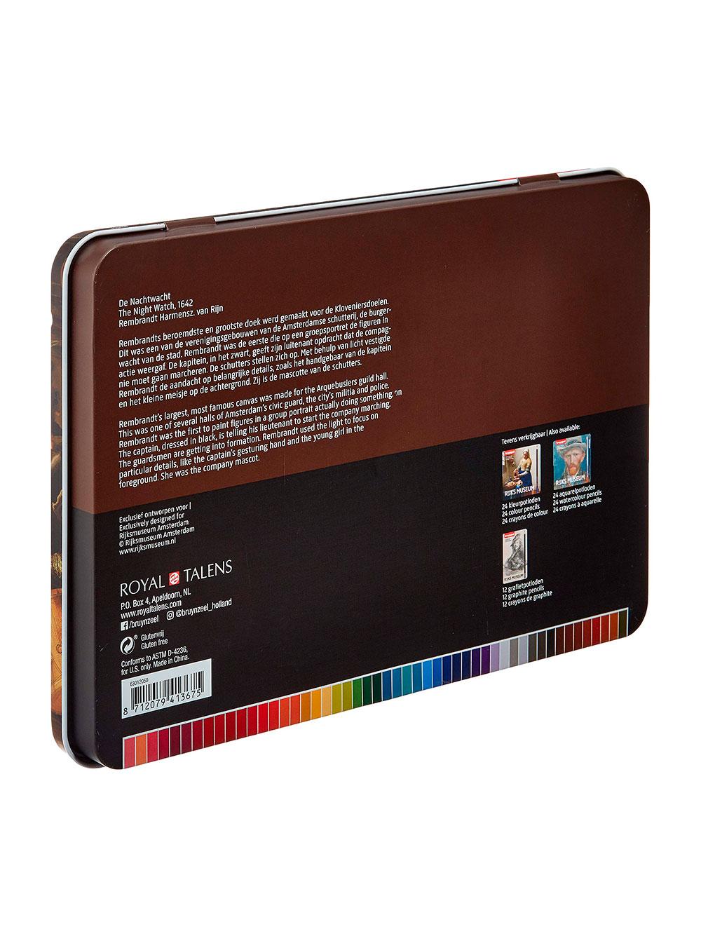Bruynzeel Rijks Museum - Set 50 Lápices de Colores