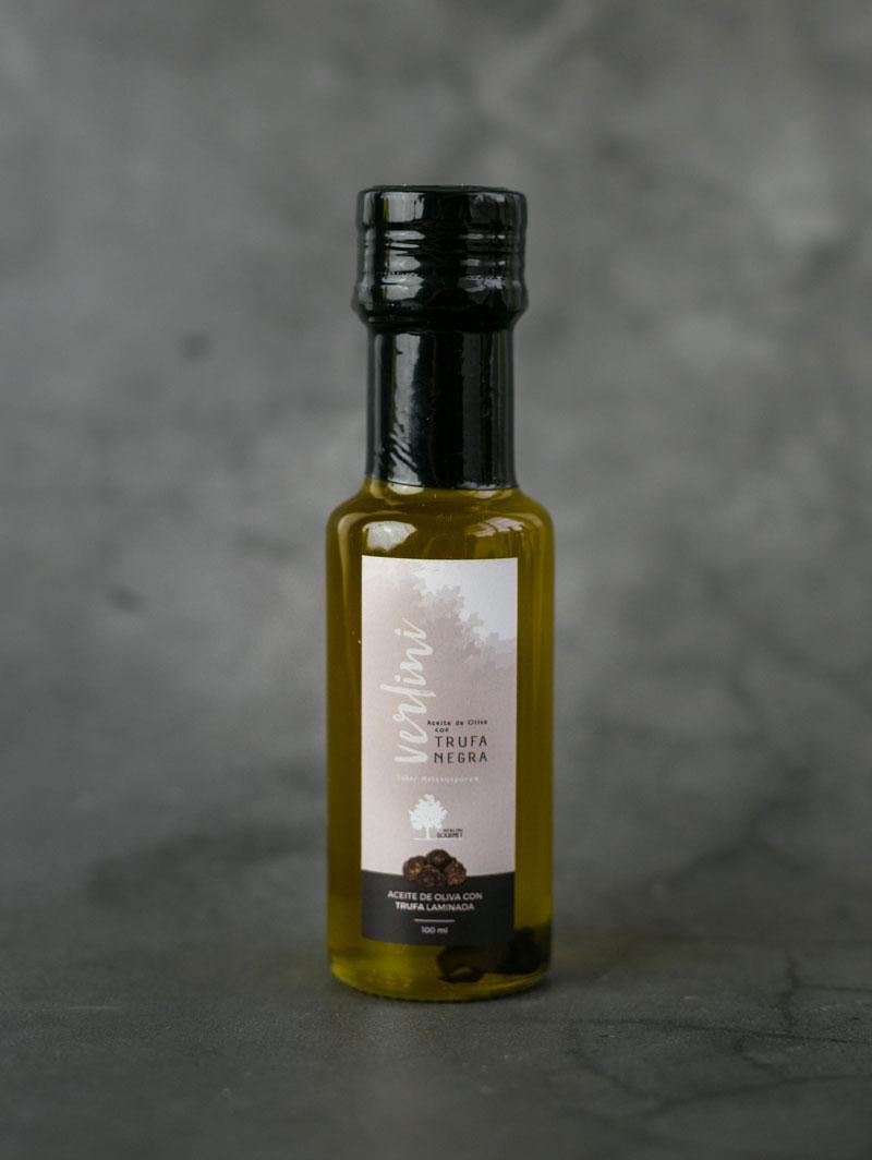 Aceite con láminas de Trufa Negra - 100ml
