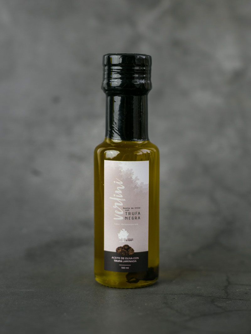 Aceite con aroma de Trufa Negra - 100ml
