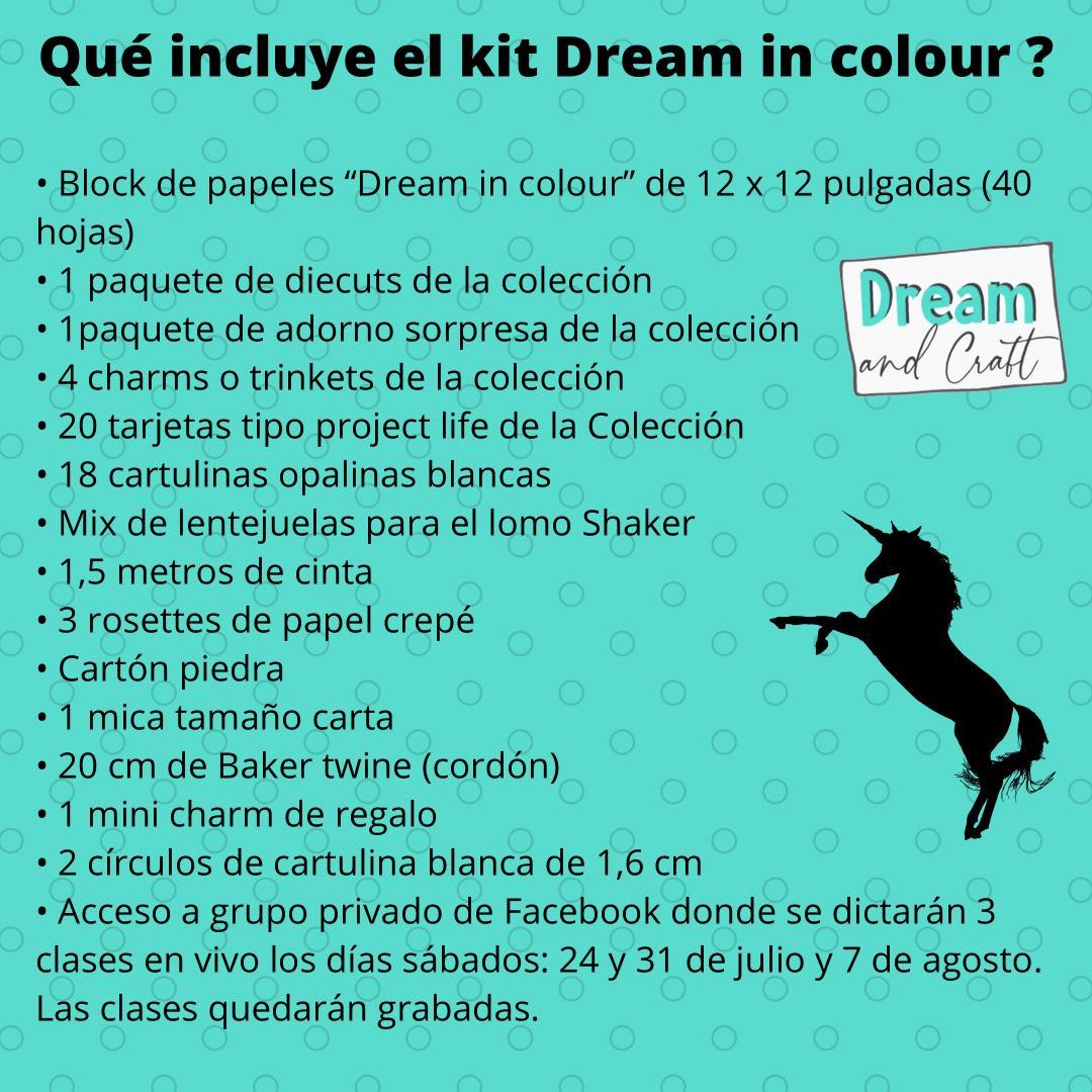 Pack Dream in Colour para hacer Album
