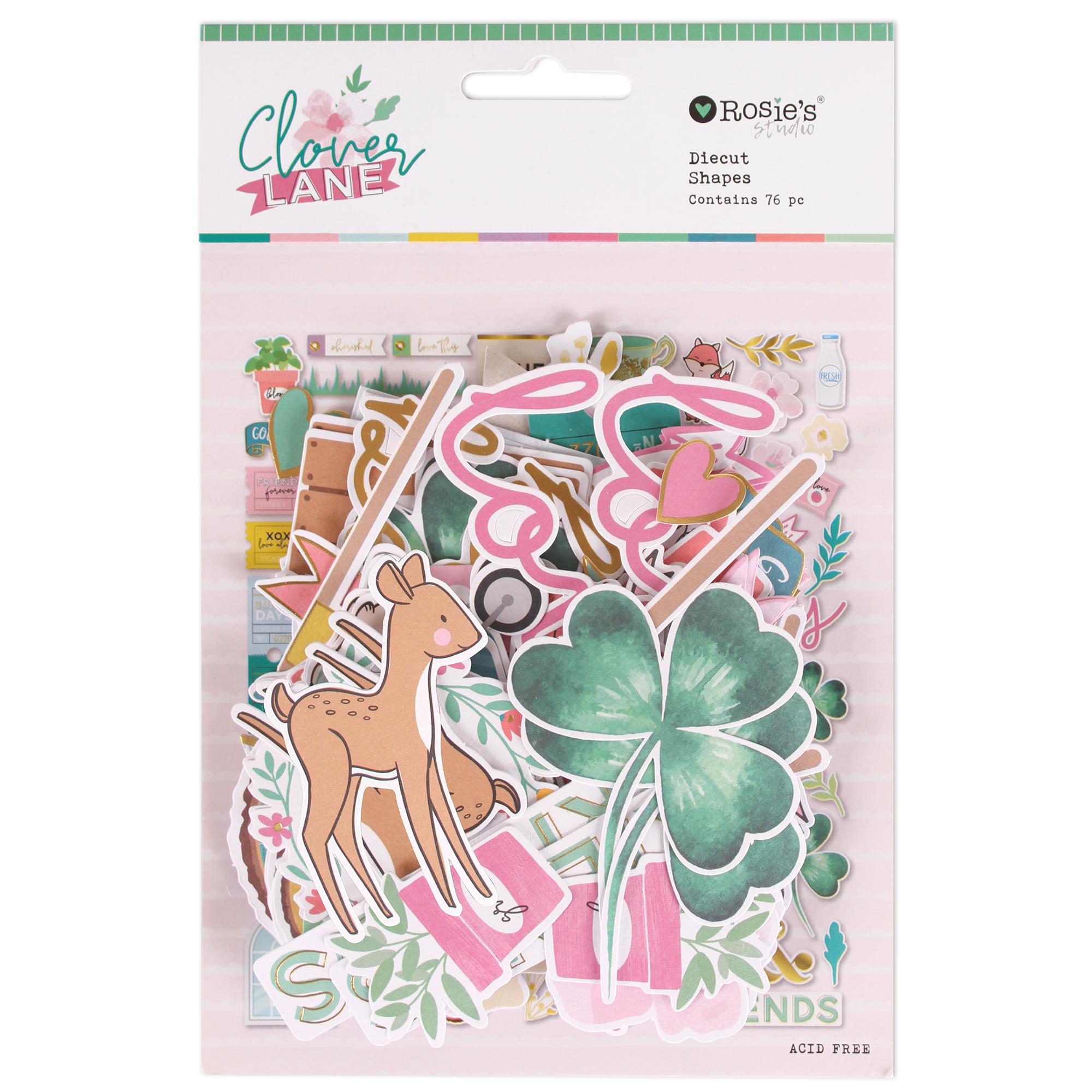 Clover Lane Cardstock Diecuts 152pk