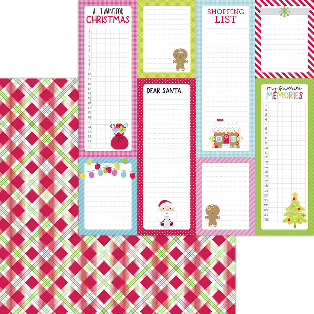Night Before Christmas 12 x 12 Paper Pack