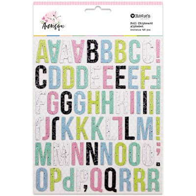 Alphabet Colección Arabesque