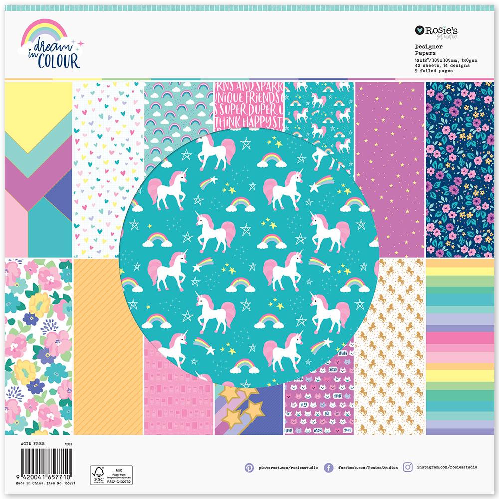 Paperpad grande Colección Dream in colour