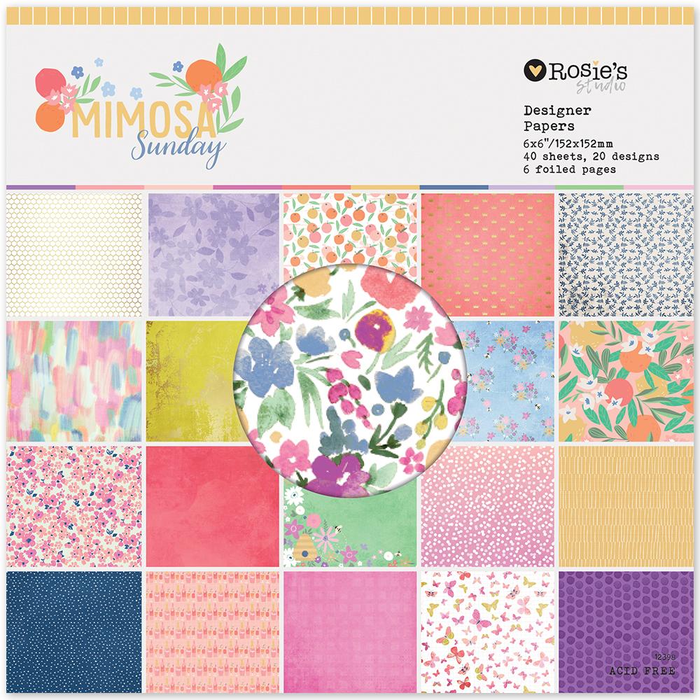 Paperpad pequeño Colección Mimosa Sunday